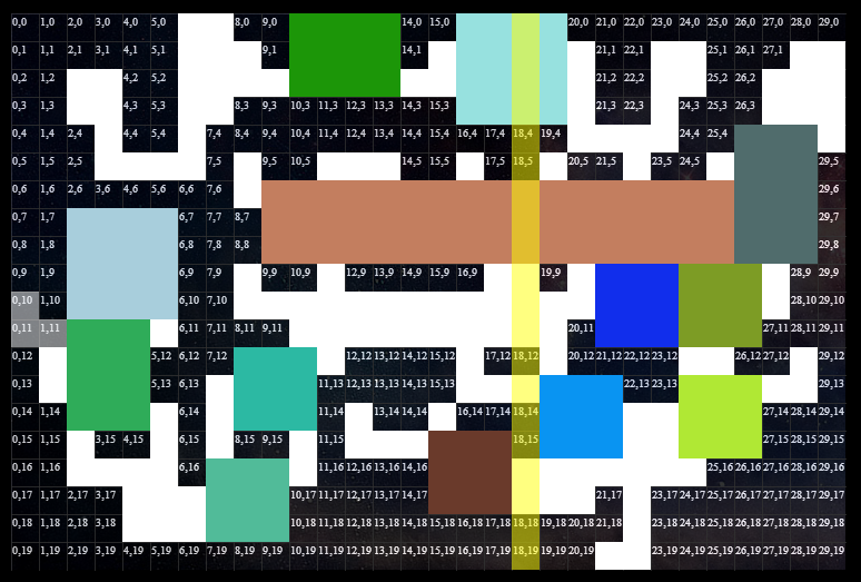 A HORRENDOUS MIX OF RANDOMLY GENERATED COLOURS
